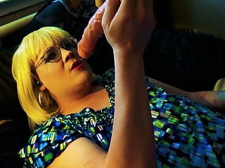 Dildo Tgirl Sissy Gags Thick on