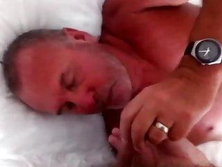 Threesome have sex...