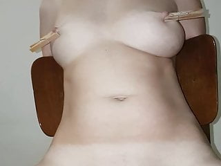 Pussy tortured with vibrations