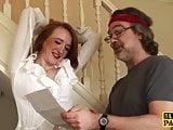 Throatfucked UK subject learning discipline by maledom