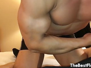 Bicep getting Fucked (with Cum on Bicep)