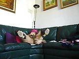 DSCN2464...me crossdresser at home