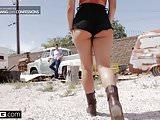 BANG Confessions - Gina Valentina Gets Used at the Junkyard