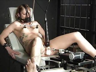 Bondage Maschine Fick Squirt
