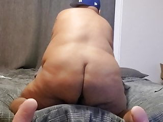 Chub playing with tight hole