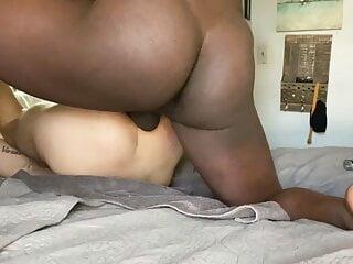 BBC Pounding White Boy Ass RAW Making His Hole Gape & Cream