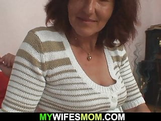 hairy-pussy sex Taboo old mother-in-law with