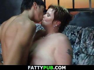Guy fucks huge melons woman...
