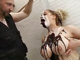 Big Tits Chocolate Syrup, Whipped Cream Blowjob