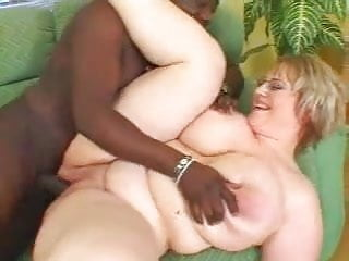 BBW Diana vs black cock