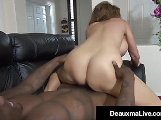 In need of sex Cougar Deauxma Bangs Great Ebony Shaft Debt Collector!