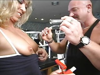 Blonde fbb milf and fucked...