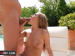 My Step Brother Put His Big Cock In My Mouth