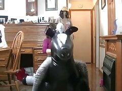 June Marie Liddy inflatable gift with Duct tape 2018