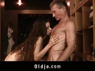 Big old dick flooding spa for nosy cunt...