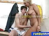 Blonde milf Marketa sex with a sporty student