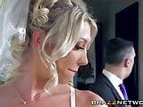 Sexy bride enjoys in wild anal fucking