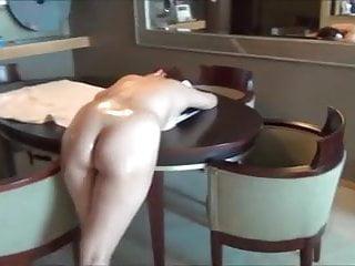 A perfect ass get massaged...
