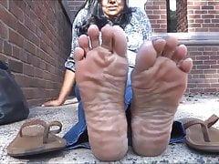 Mature Indian soles
