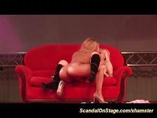 lesbian scandal on public stage
