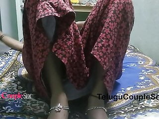 Telugu wife homemade fuck...