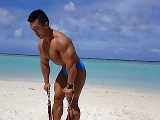 Muscle asian...