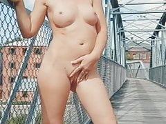 SexxyCandyy Outdoor Nudity Pissing
