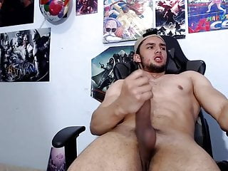 latino boy Ivan shows his beautiful body and cum