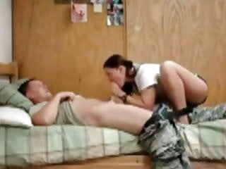 Army welcome home sex...