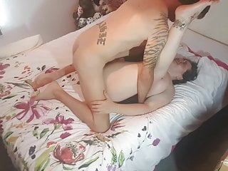 SEX SESSION BOTH HOLES USED