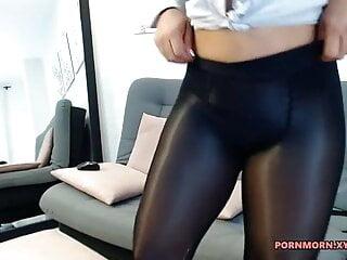 beautiful secretary after work
