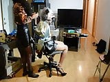 Ronni Endures Breath Play & Garroting by Stephanie Lorain 2
