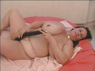 BBW-Milf Dildoing and Blowjob