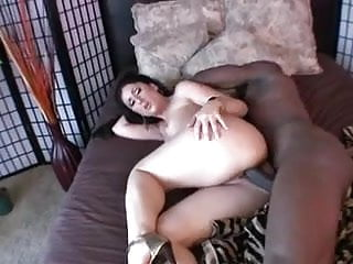 Luscious Lopez - Fucking with a big black juicy cock