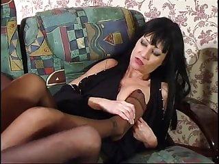mature lesbian fetish pantyhose foot