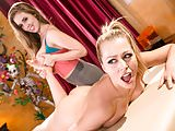 Lesbian adventure at massage salon