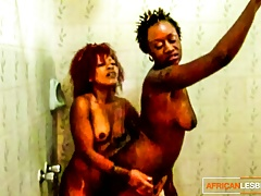 Horny African Lesbians – Wet Muffdiving and Female Orgasm