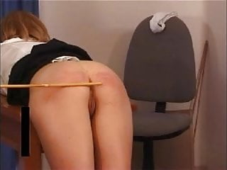 Punishment Room Double Caning