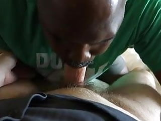Lil dick swallows white college cum...