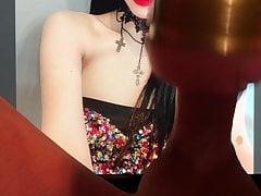 Red Velvet Irene cum tribute 4
