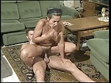 Unknown hairy granny anal