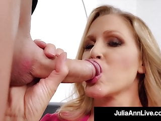 Erotic Old mom Milf Julia Ann Face Smashes A Onerous Penis!