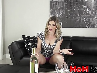 Busty stepmom Cory Chase fucked exhausting by means of a stepson