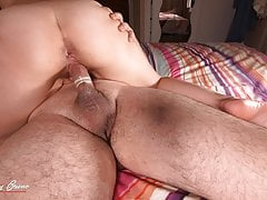 Oops, Stepbrother Filled Me Up Inside, Broken Condom, Creampie