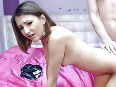 Hot Guy Drills His Lovely Girlfriend Pussy
