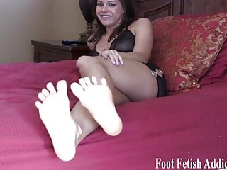 them your need cute little My cum feet on