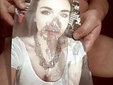 Tribute for kummloverr - cumshot on face and tits