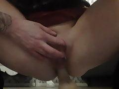 Wet dildo