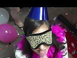 Happy birthday blow job