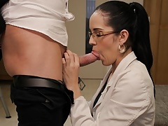LOAN4K. Hot chick from female music band gets fucked by loan